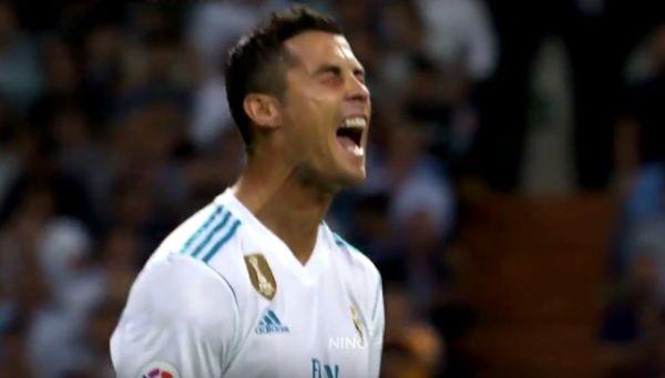 Cristiano Ronaldo nagyot kiált