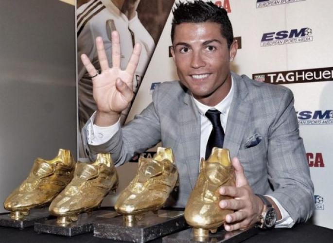 Cristiano Ronaldo és a négy Aranycipő