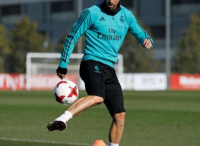 Real Madrid - Ramos újra edzésben
