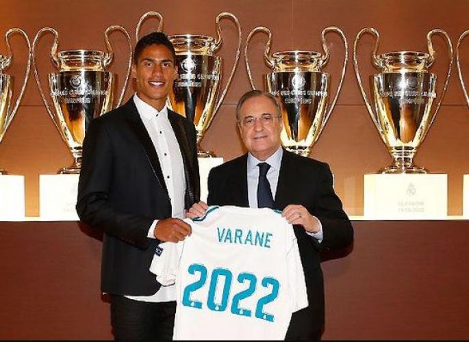 Raphael Varane hosszabbít - Real Madrid