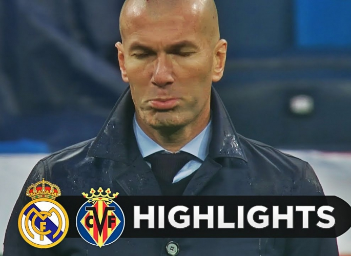 Embedded thumbnail for Real Madrid - Villarreal 0-1 A hajrában jött a pofon