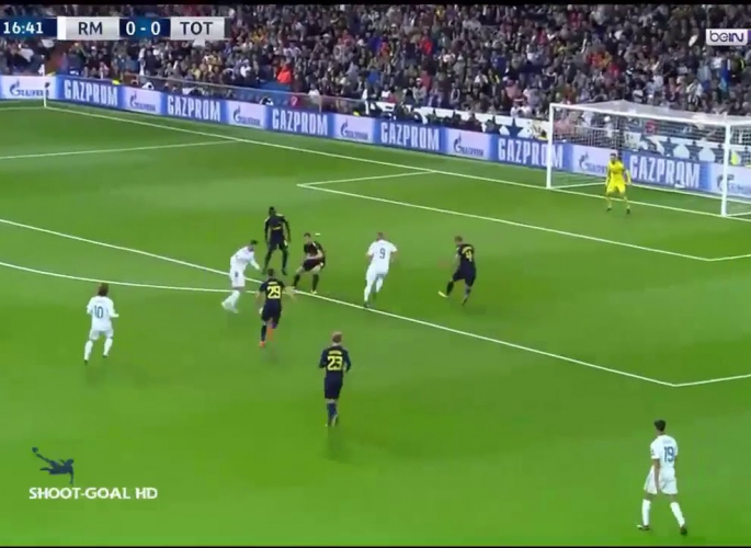 Embedded thumbnail for Real Madrid - Tottenham 1-1