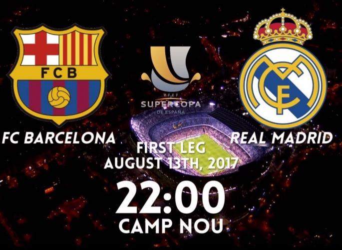 Embedded thumbnail for Barcelona - Real Madrid Szuperkupa hangoló videó