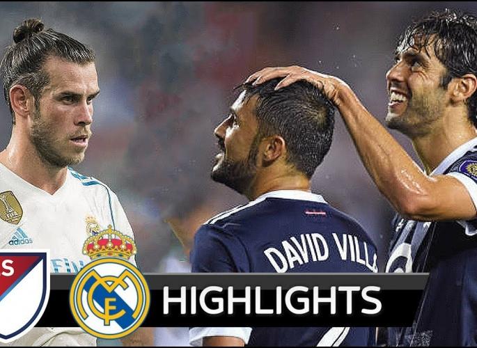Embedded thumbnail for MLS All-Stars - Real Madrid 1-1 (büntetőkkel 2-4) Videó